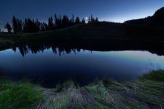 Łyżkowy jezioro obrazy stock