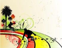 łyżwiarka ilustracyjny wektor Obrazy Stock