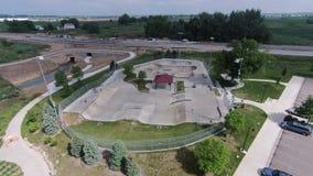 Łyżwowy park przy Piaskowcowym rancho 01 Zdjęcia Stock
