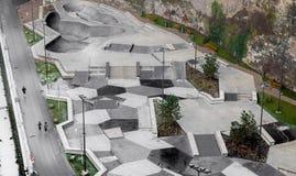 Łyżwowy park w Luksemburg obraz stock
