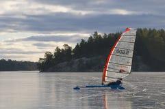 Łyżwowy target1291_1_ Szwecja Zdjęcia Royalty Free