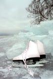 łyżwy Fotografia Stock