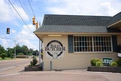 Łysa masarka, Covington, Tennessee zdjęcie royalty free