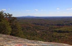 Łysa skała w Południowa Karolina zdjęcie royalty free