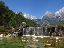 ¼ Œ Китай ¼ Œ Yunnanï mountainï снега Yulong Стоковые Изображения