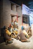 ¼ ŒHistorical de Palaceï de figure de cire de l'Asie Chine, du Pékin Minghuang et paysage culturel de Ming Dynasty en Chine Photo libre de droits
