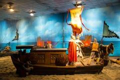 ¼ ŒHistorical de Palaceï de la figura de cera de Asia China, de Pekín Minghuang y paisaje cultural de Ming Dynasty en China Fotografía de archivo