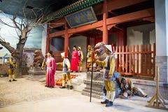 ¼ ŒHistorical Palaceï изделия из воска Азии Китая, Пекина Minghuang и культурный ландшафт династии Ming в Китае Стоковые Фотографии RF