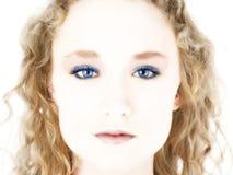 œil bleu de Digitals photo libre de droits