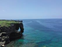 ¼ Œsea de Okinawaï fotografía de archivo libre de regalías