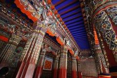 ¼ Œtemple de Xizangï; monastério Imagens de Stock Royalty Free