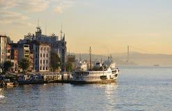 ¼ ŒTurkey dello sceneryï di mattina di Costantinopoli Fotografia Stock Libera da Diritti