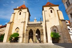 ?et?zem de la vaina de Kostel Panny Marie Imagen de archivo