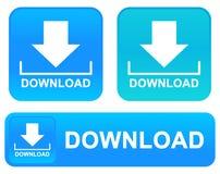 Ściąganie zapina sieci ikony ustawia nową koloru wektoru ilustrację zdjęcia royalty free