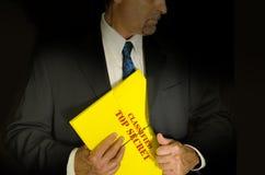Ściśle Tajny Klasyfikujący biznes i gov. pojęcie Obraz Stock
