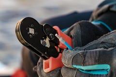 Ściśnięty narzędziowej porady drut Zdjęcie Stock
