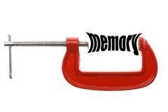 Ściśnięty pamięci pojęcie Zdjęcie Stock