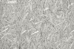 Ściśnięty przetwarzający chipboard, biała horyzontalna drewniana tekstura zdjęcia royalty free