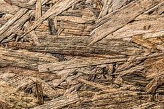 Ściśnięty sklejkowy materialny odgórny widok zdjęcie stock