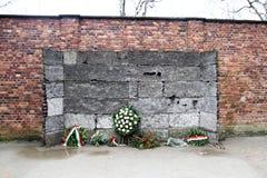 Ściana śmierć fotografia stock