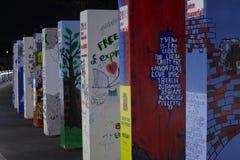 ściana Berlin spadek jubileuszu ściana Obraz Royalty Free