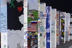ściana Berlin spadek jubileuszu ściana Zdjęcie Royalty Free