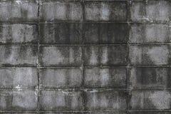 Ściana betonowych płytek dekoracyjne cegły textural skład fotografia royalty free