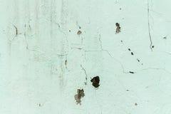 ściana brudna Kolor zieleń farba brudna ulicy ściana _ plecy Zdjęcie Stock