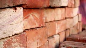 Ściana cegły zbiory