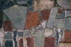 Ściana ciężcy kamienie jako tło zdjęcie royalty free