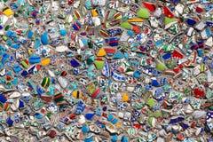 Ściana czerepy turecczyzna Obrazy Royalty Free