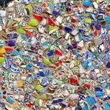 Ściana czerepy turecczyzna Fotografia Royalty Free