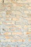 Ściana czerwień będąca ubranym cegła Obrazy Royalty Free