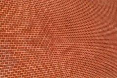 Ściana czerwona cegła Fotografia Royalty Free