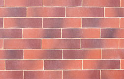 Ściana czerwone dekoracyjne cegły Zdjęcia Stock