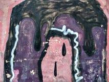 Ściana dom w starej części miasto! Obraz Stock
