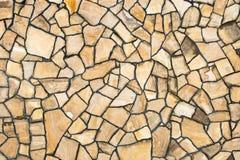 Ściana dom wykładał z naturalnym kamieniem verdure pozyskiwania środowisk gentile Fotografia Royalty Free