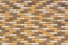 Ściana dom zrobi kolorowe dekoracyjne cegły fotografia royalty free