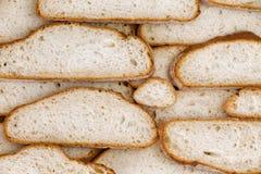 Ściana domowi robić chlebów plasterki Obraz Stock
