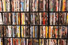 Ściana DVD obrazy royalty free