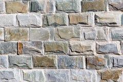 Ściana granitowe cegły jako tło Obrazy Stock
