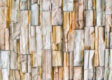 Ściana granitowi kawałki Fotografia Royalty Free