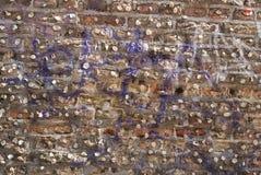 Ściana guma do żucia zdjęcia stock