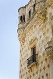 Ściana historyczny pałac w Guadalajara Zdjęcie Stock