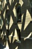 Ściana I Windows W abstrakta świetle HDR zdjęcie stock