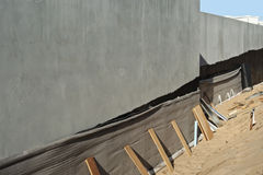 Ściana izolująca Zdjęcie Royalty Free