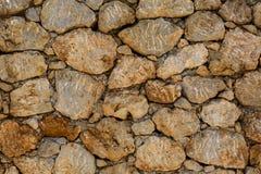 Ściana kamień Zdjęcie Stock