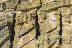 Ściana kamienie Obrazy Royalty Free