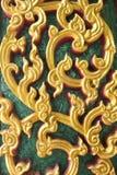 Ściana kościół Thailand Obraz Royalty Free
