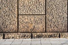 Ściana - kształtne piaskowiec płytki 7 Obraz Royalty Free